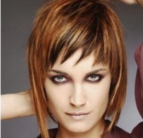 Стрижка разной длины на короткие волосы. Каскад на короткие женские волосы