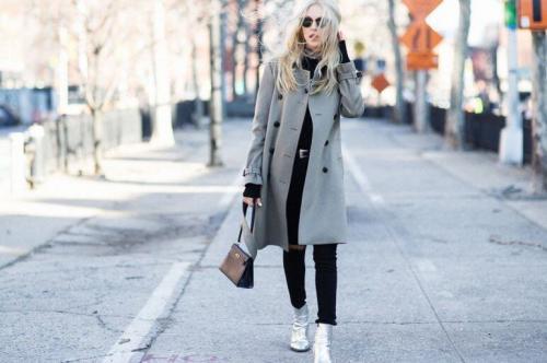 Пальто оверсайз. С чем носить женское пальто оверсайз — фото модных образов