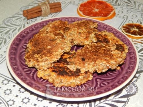 Диетическое овсяное печенье-на сковороде. Овсяное печенье на сковороде