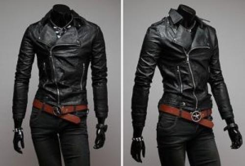 Черную куртку с чем носить. С чем носить черную куртку