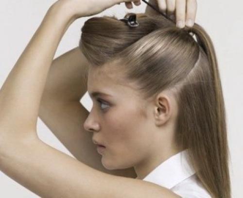 Как красиво заколоть волосы средней длины в домашних условиях. Как заколоть волосы (38 фото) необычно и красиво!