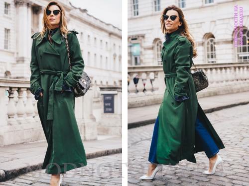 Длинные пальто с чем носить. С чем носить длинное пальто в 2020 году?