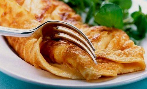 Салат из шампиньонов и омлета. Салат с омлетом — самые вкусные блюда