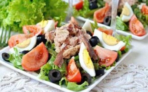 Салат с тунцом на сушке. ПП-Нисуаз с тунцом: простота и изысканность