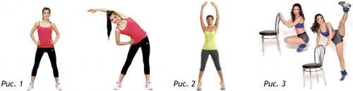 Упражнения для талии стоя. Эффективные упражнения для талии