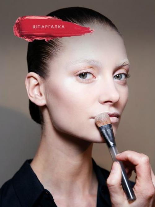 Как наносить хайлайтер и румяна. Как правильно наносить макияж на лицо?
