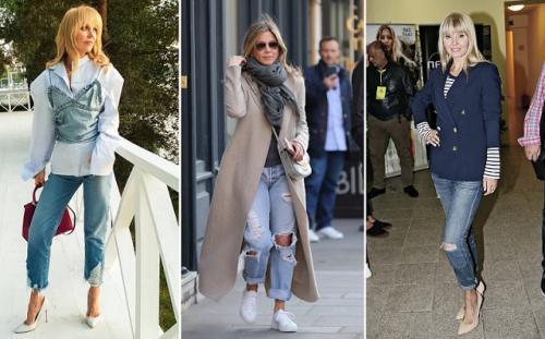 Советы Эвелины Хромченко для женщин посл.  Эвелина Хромченко объяснила зрелым женщинам, как носить джинсы после 50 лет и не выглядеть дешево