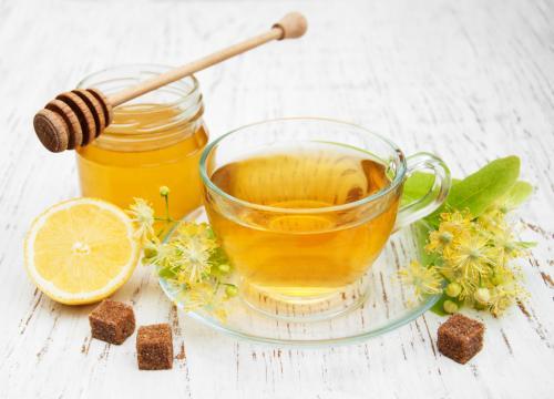 Мед зеленый чай и лимон. Рецепт