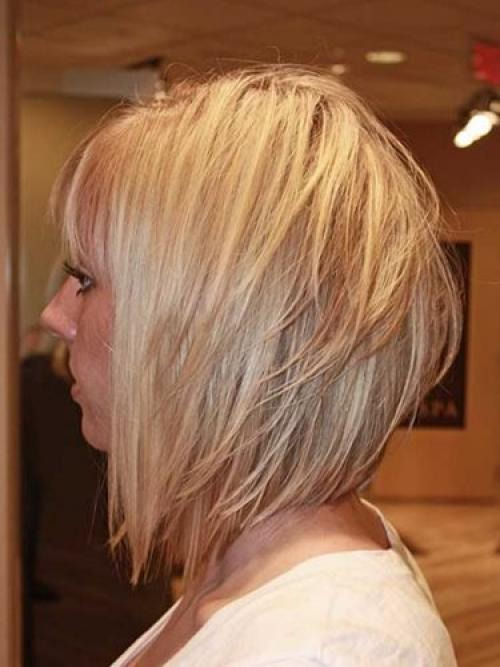 Многослойные объемные стрижки на средние волосы. Многослойный боб