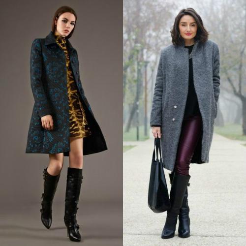 Пальто по колено с какой обувью носить. Пальто до колена, выше колена и ниже колена – подбираем обувь для каждого случая