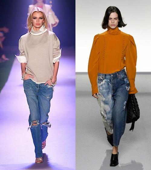 Модные джинсы осень-зима 2020. Модные джинсы весна-лето 2020