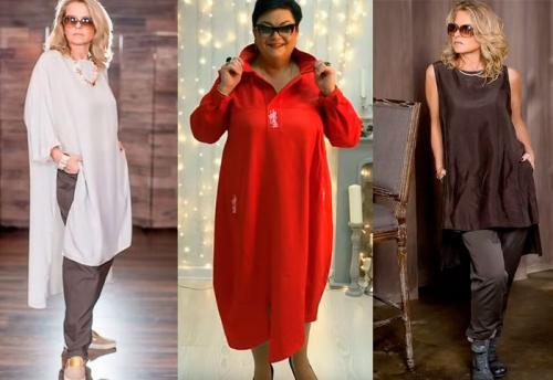 Мода 2019 для женщин з.  Мода для женщин за 50 в 2019 году, осень, зима, фото и видео
