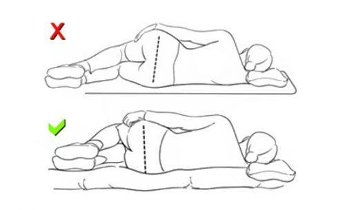 Полезно ли спать на полу при сколиозе. Выбор позы