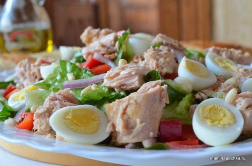 Салат с тунцом ПП на ужин. Салат с тунцом: лучше ужина не найти!
