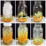Цитрусовая вода.  Приготовление (на 2 литра воды: