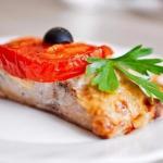 Рыба по-гречески?   Ингредиенты: