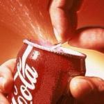 Мы пьём кока-колу?