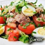 Салат с тунцом: лучше ужина не найти!