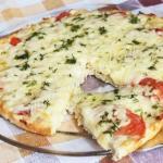 Куриная пицца: можно даже на ночь!