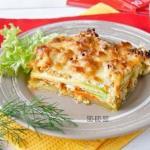 ПП- Ужин: лазанья из кабачков.