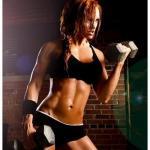 Программа для сушки мышц для девушек: питание, упражнения.