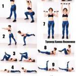 Мини тренировка на все группы мышц.