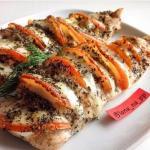 Курица аля капрезе: вкуснейший ужин!