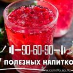 7 полезных напитков для организма.