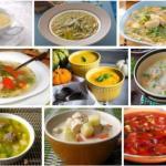 Топ - 10 вкусных и не калорийных супов?
