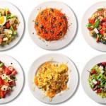 Простые и очень вкусные салаты.