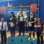"""Мы поздравляем тренера фитнес хаус Гаврилову Анну с установленным рекордом на всероссийских соревнованиях по пауэрлифтингу """"Белые Ночи""""!"""