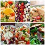 ? 6. Простых белковых салатиков к ужину?
