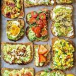 6 вариантов вкусных бутербродов.