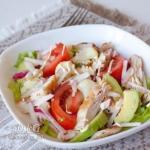 Калифорнийский куриный салат.