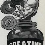 Эффекты креатина.  Эффект номер 1: креатин усиливает гипертрофию мышц.