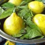 Мятный лимонад.  - 2 лимона.
