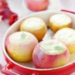 Печеные яблоки с творогом?