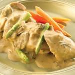 Куриное Филе в сырном соусе - самый простой рецепт.