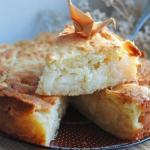 Низкокалорийный овсяный пирог с яблочной заливкой?