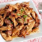 Куриная грудка в азиатском стиле.