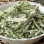 Лучшие рецепты салатов для похудения.