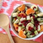 Зимний фруктовый салат.