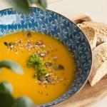 Время пришло: пряный тыквенный суп - пюре.