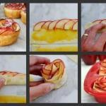 Интересный десерт из яблок!