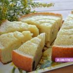 Вкусный и сочный манно - яблочный пирог?