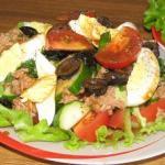 ПП- Варианты салатов из тунца.