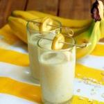 Диетические напитки.  Банан идеальный поставщик калия, который выводит из организма лишнюю воду.